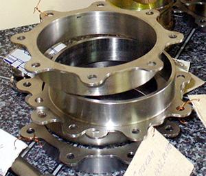 Shaft seal | titanium welding | Ador Fontech