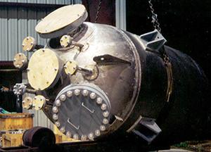 hydraulic pressure vessel   Nickel electrodes   Ador Fomtech